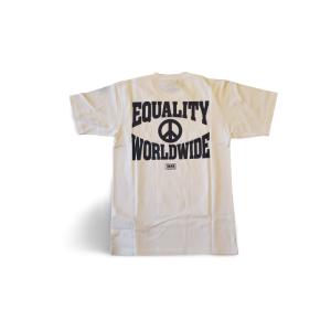 t-shirt vans equality white